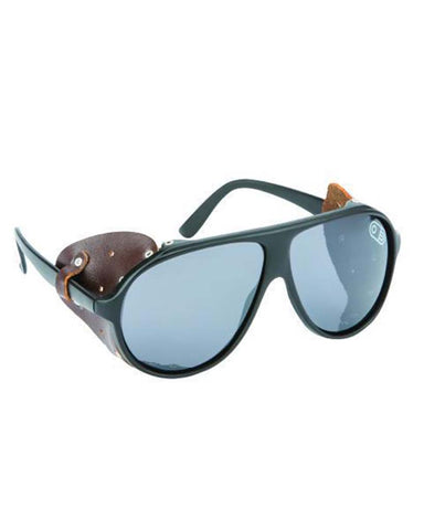 POLARIZED GLACIER GLASSES GLOSS BLACK