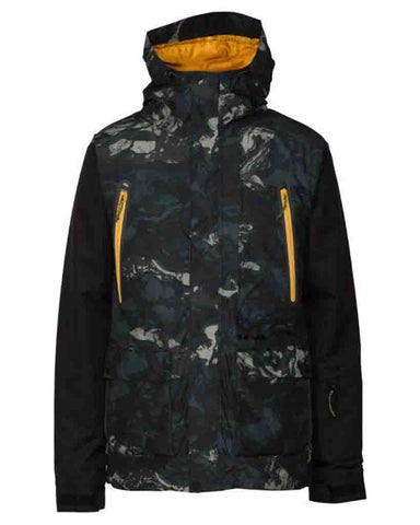 BASALT INSULATED JACKET SEDIMENT