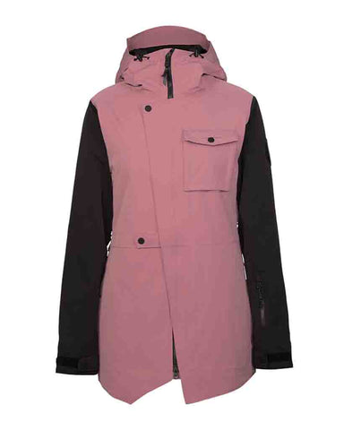 HELENA INSULATED JACKET ROSE
