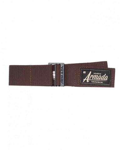 PAN STRETCH BELT MAHOGANY