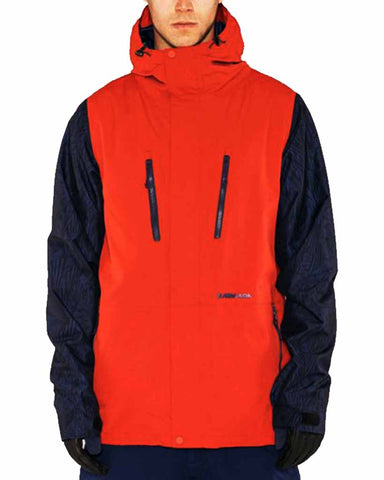 ASPECT JACKET RED CHILLI