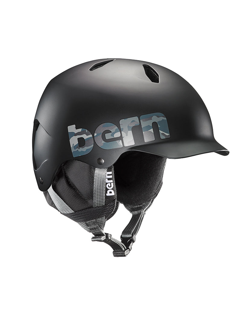 Winter helmet BERN BANDITO BLACK