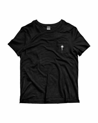 X SPRING BREAK SB INVERT POCKET TEE BLACK