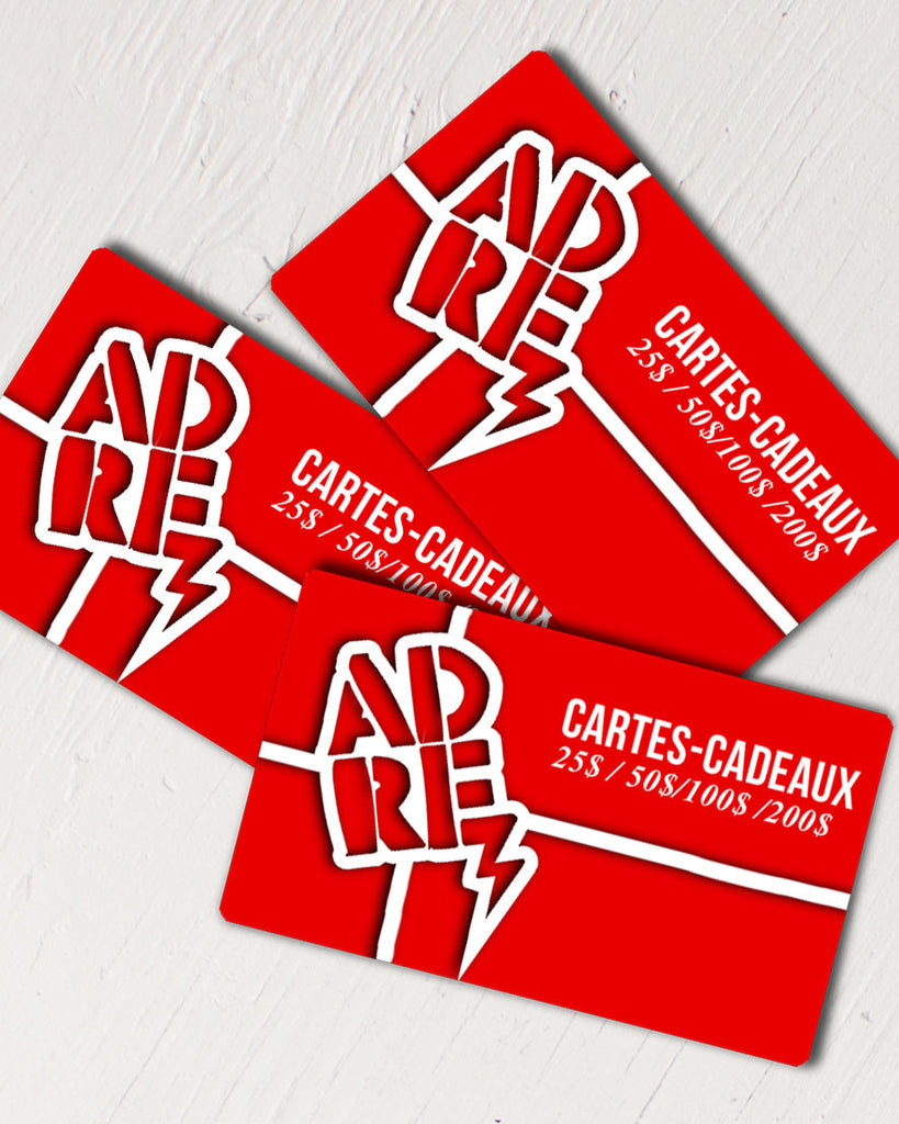 Gift Card ADRENALINE Carte-Cadeau