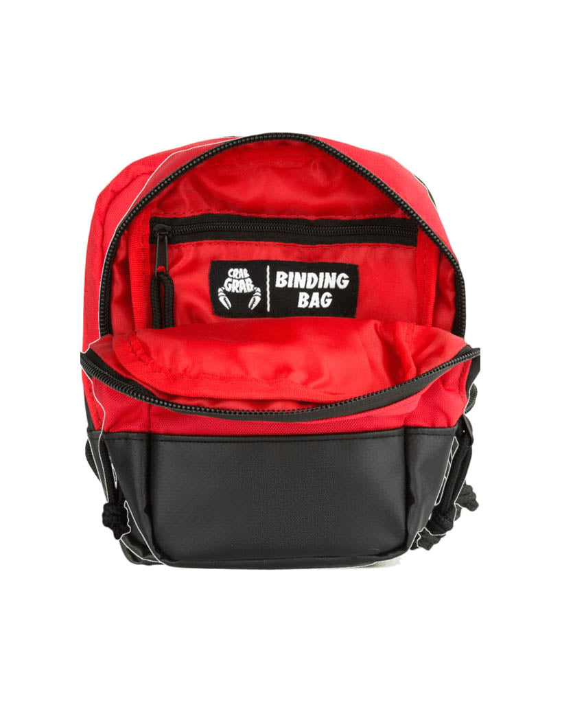 Accessoire de snowboard CRAB GRAB BINDING BAG BLACK RED