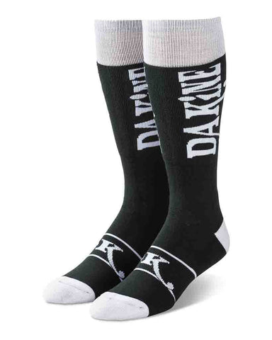 FREERIDE SOCK - MEN'S BLACK-WHITE