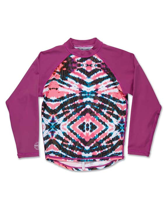 Rashguard DAKINE GIRLS CLASSIC LS WATERMELON BURST