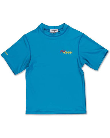 SSL KIDS HEAVY DUTY LOOSE NEON BLUE