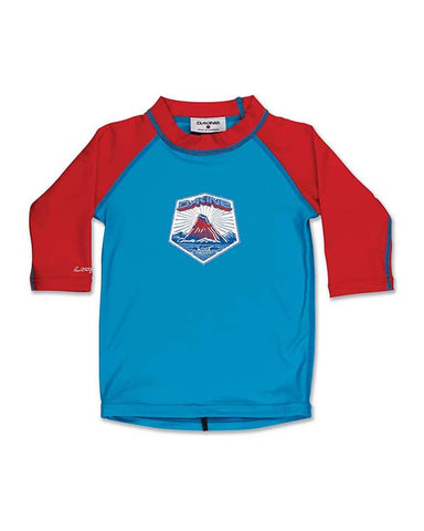 TODDLER 3/4 SLEEVE NEON BLUE