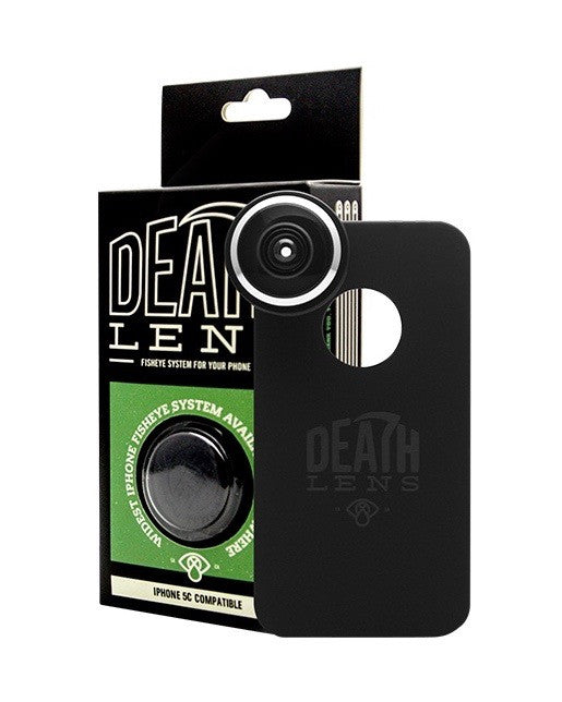 Camera and lens DEATH LENS IPHONE 5C FISHEYE LENS