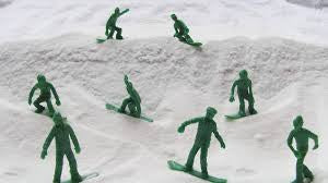 TOYS BOARDERS -SNOW SERIES 1 GREY  - 3