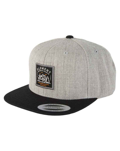 TREKKER CAP GREY HEATHER