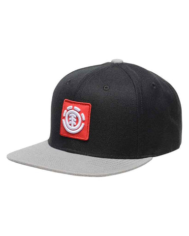 UNITED CAP A BLACK/GREY