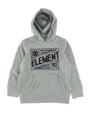 BOYS WALTERS HOOD GREY HEATHER