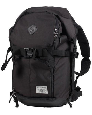 THE WEEKENDER CAMP COLLECTION BACKPACK FLINT BLACK