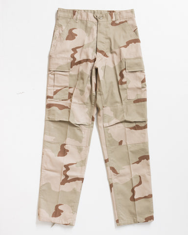 ADRE CARGO RELAXED FIT TRI-COLOR DESERT SWAT