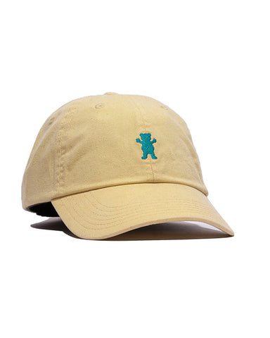 OG DAD BEAR LOGO YELLOW BLUE