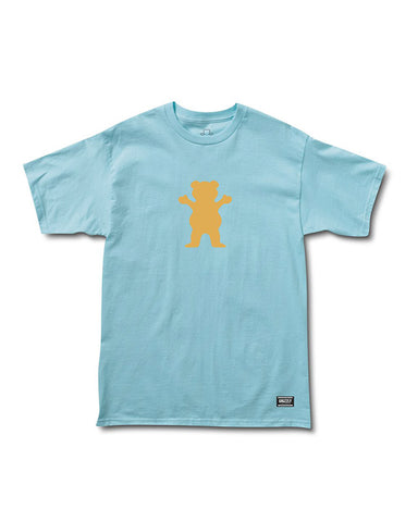 OG BEAR LOGO BABY BLUE PEACH