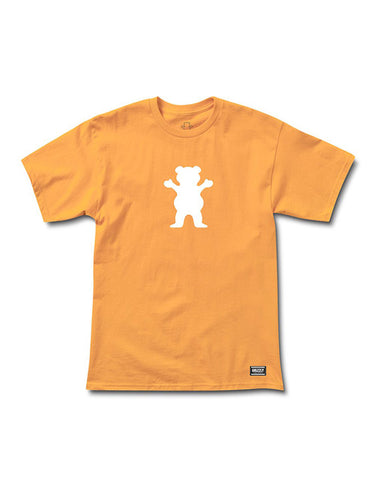 OG BEAR LOGO PEACH WHITE