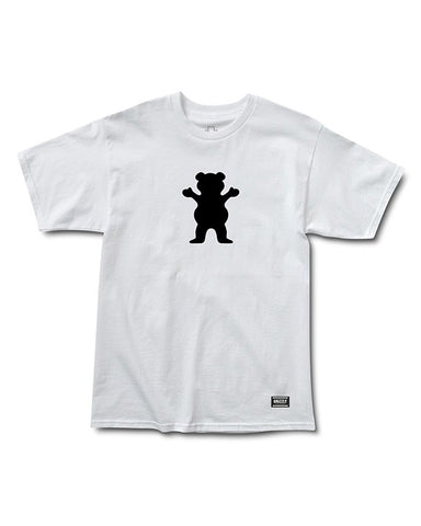 OG BEAR LOGO WHITE