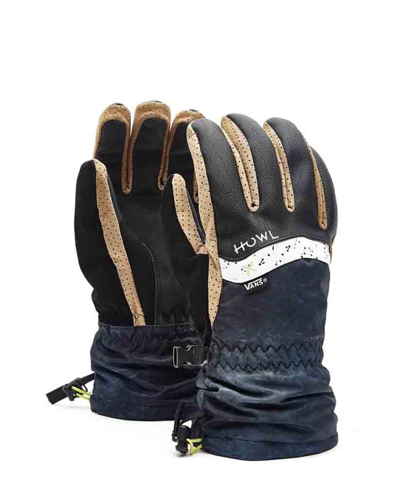 Howl Gloves and Mitts HOWLO X VANS BLACK 2019