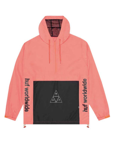 HUF PEAK 3.0 ANORAK JACKET CANYON SUNSET