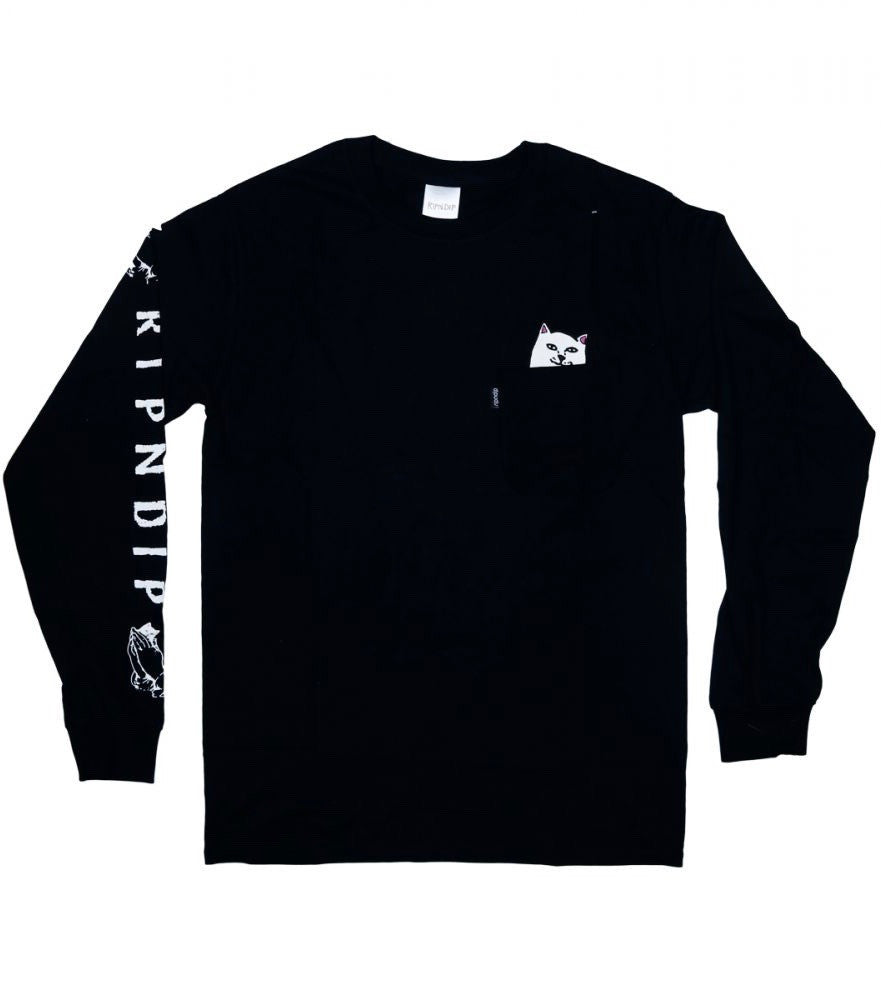 LORD NERMAL L/S (BLACK)