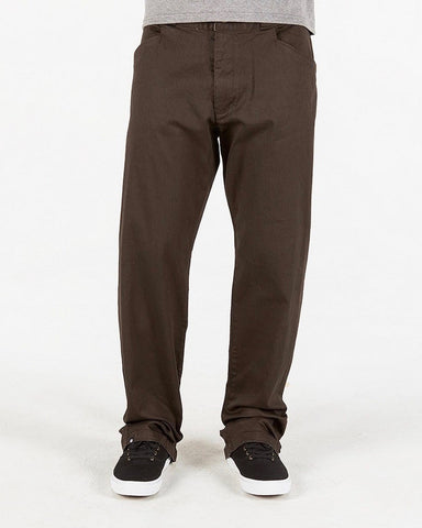 BURLEYS COFFEE RELAX FIT CHINO