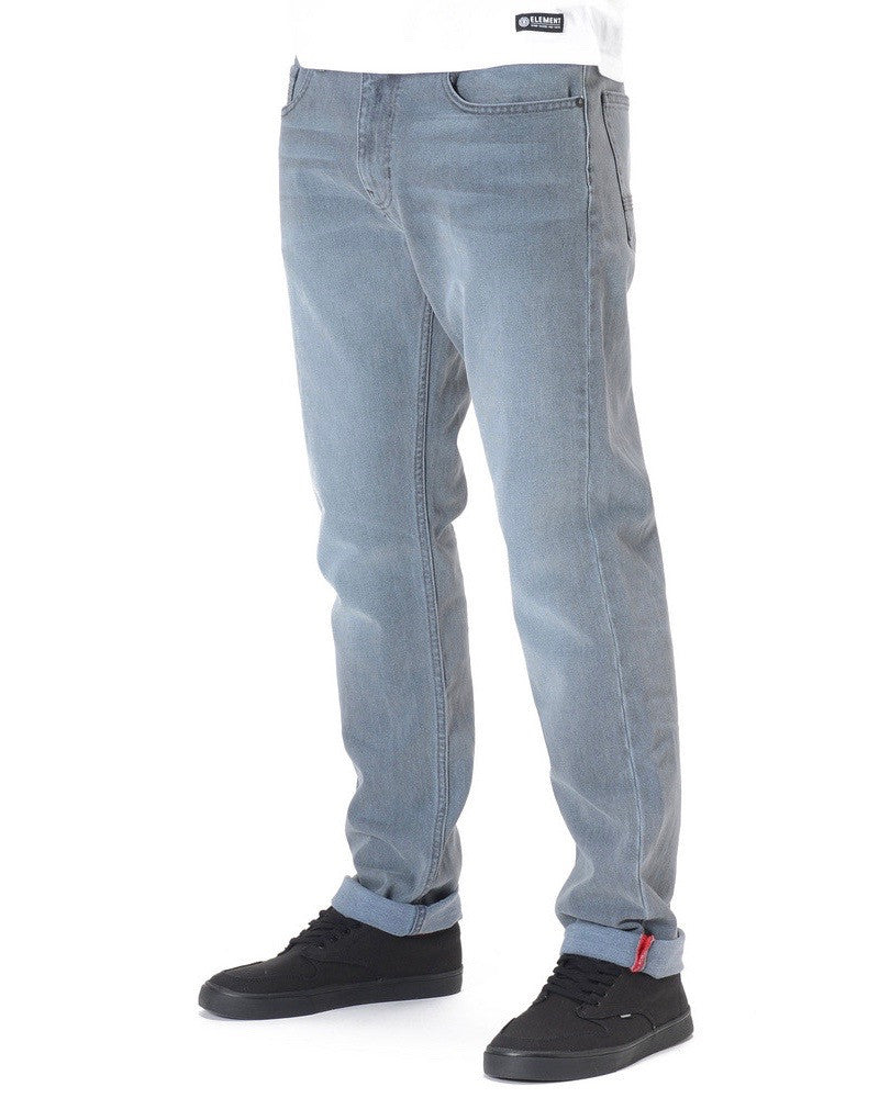Jeans ELEMENT DESOTO BLACK LIGHT USED MODERN REGULAR FIT