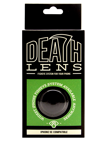 DEATH LENS -FISHEYE LENS IPHONE 5C  - 2