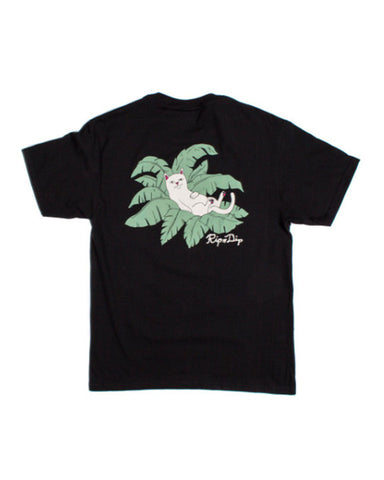 NERMAL LEAF POCKET BLACK
