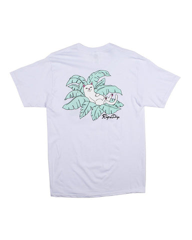 NERMAL LEAF POCKET WHITE