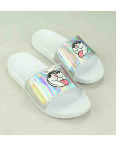 IRIDESCENT PILL SLIDES