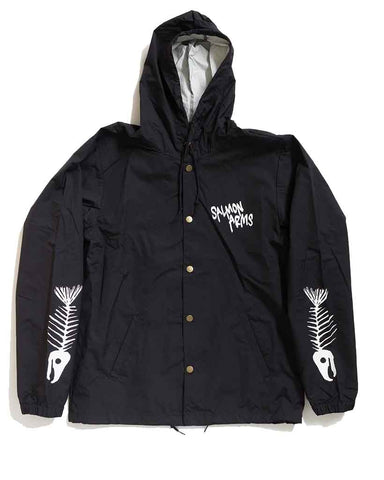 BONES HOODED COACH JACKET