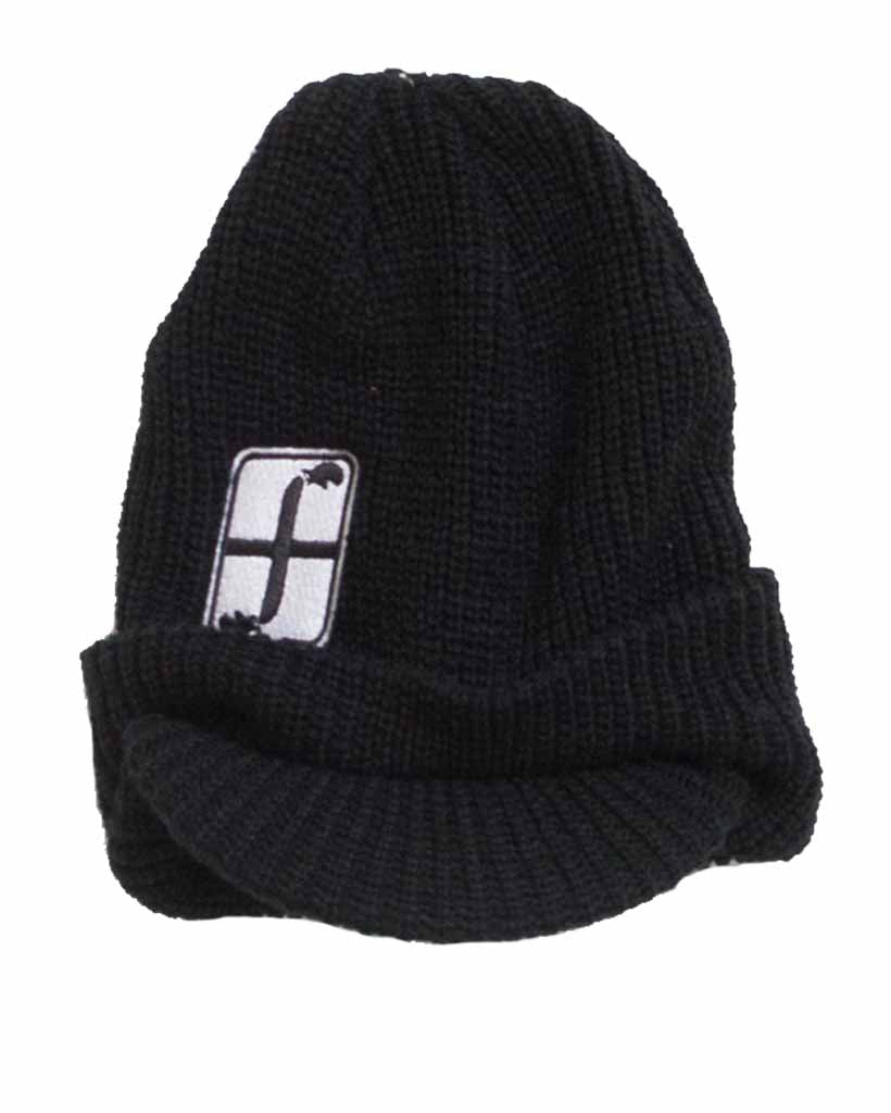 SALMON ARMS BRIM TOQUE Beanie BEANIE BLACK
