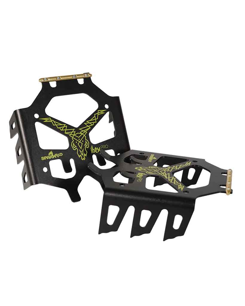 SPARK snowboard accessory R & D IBEX CRAMPONS PRO BLACK-LIME