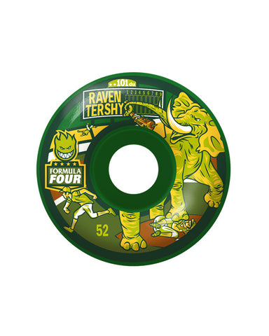 F4 101D RAVEN STOMPER GREEN 52MM