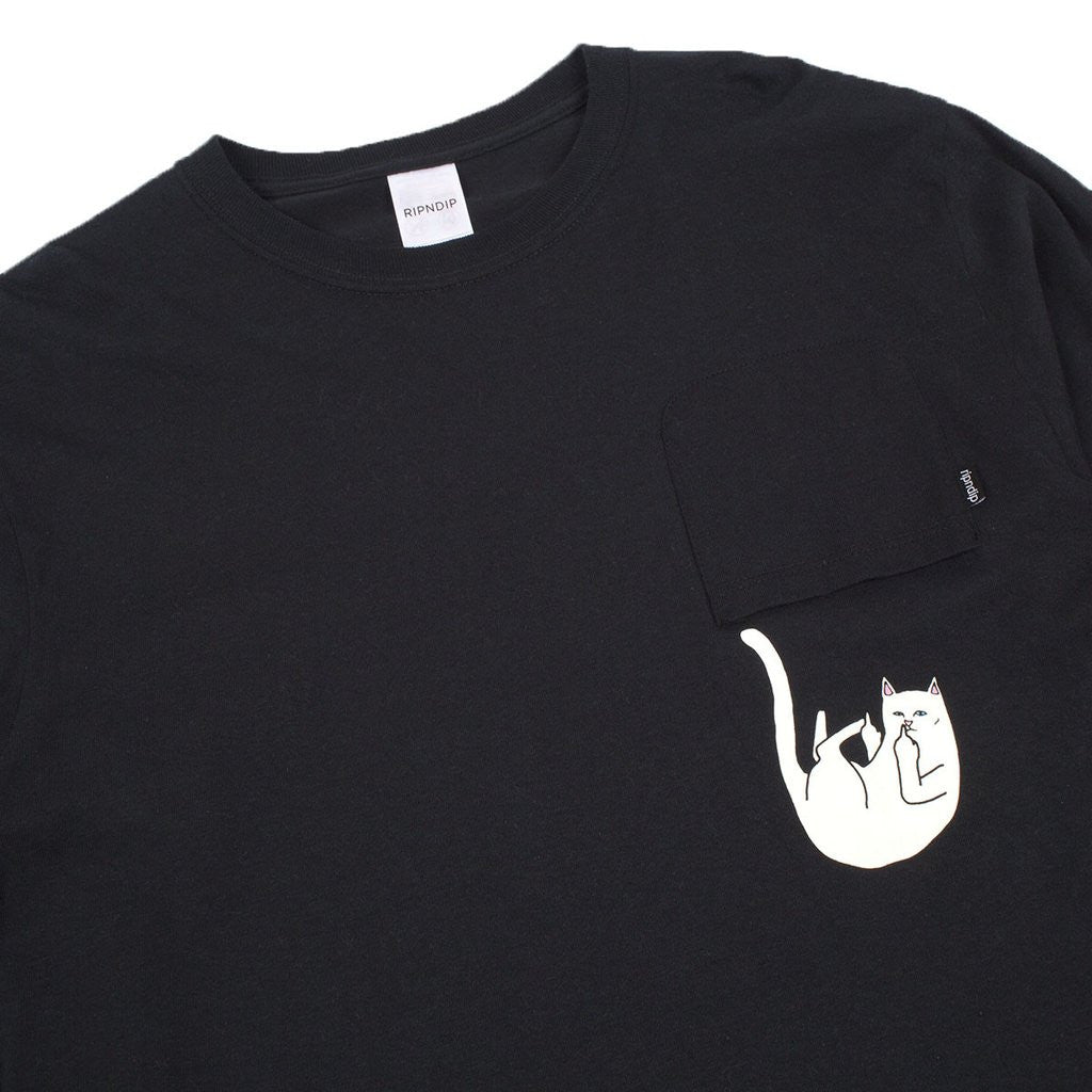 FALLING FOR NERMAL LONG SLEEVE (BLACK)