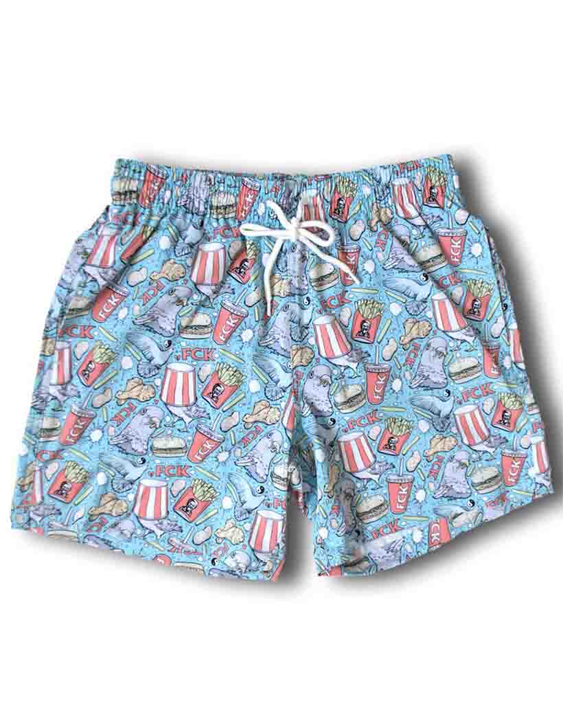 Boardshort UNDZ SWIMTRUNK THE FCK
