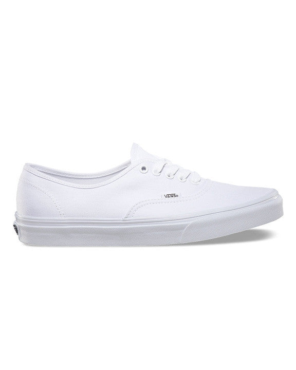 Souliers VANS AUTHENTIC TRUE WHITE