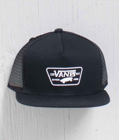 BOYS CHAIN PATCH TRUCKER BLACK