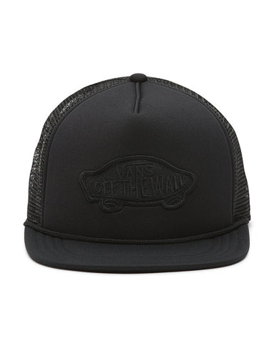 CLASSIC PATCH TRUCKER BLACK