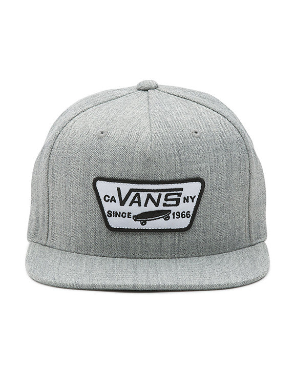 Casquette VANS FULL PATCH SNAPBACK HEATHER GREY