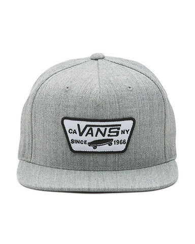 FULL PATCH SNAPBACK HEATHER GRAY