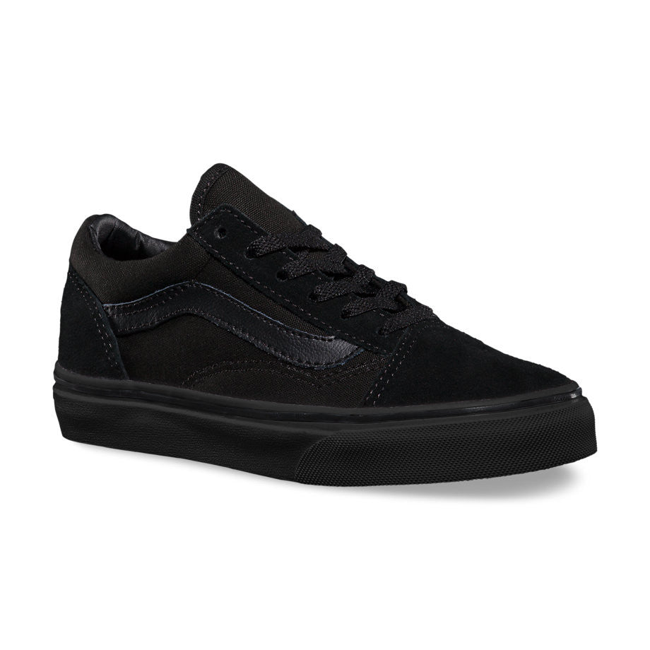 Y OLD SKOOL BLACK BLACK