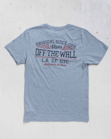 SINCE 66 POCKET HEATHER GREY