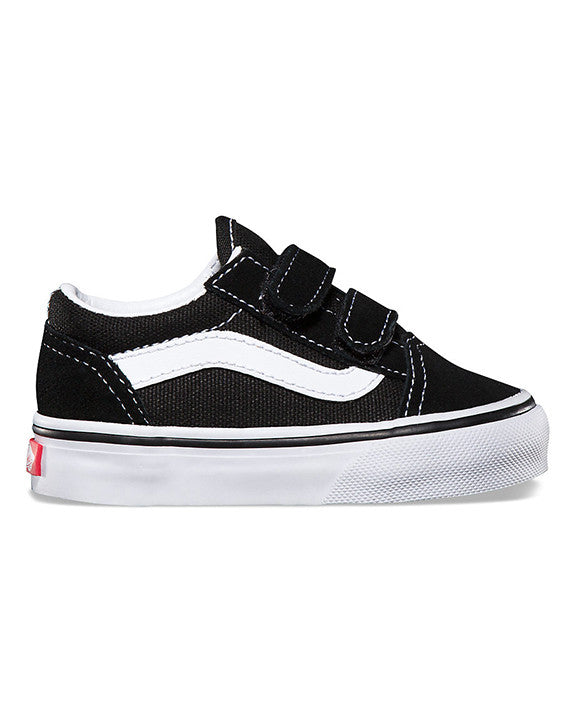 VANS Shoes TODDLER OLD SKOOL V BLACK