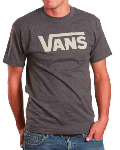 VANS CLASSIC CHARCOAL/WHITE