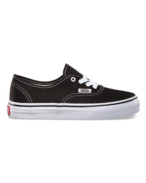 Shoes VANS Y AUTHENTIC BLACK