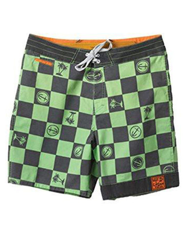 "CAPTAIN FIN 19"" BOARDSHORT GREEN"